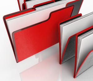 image of file folders